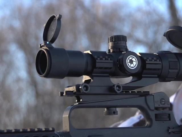 Barska® AR-15 1-4x28 SWAT-AR Tactical Scope - image 3 from the video