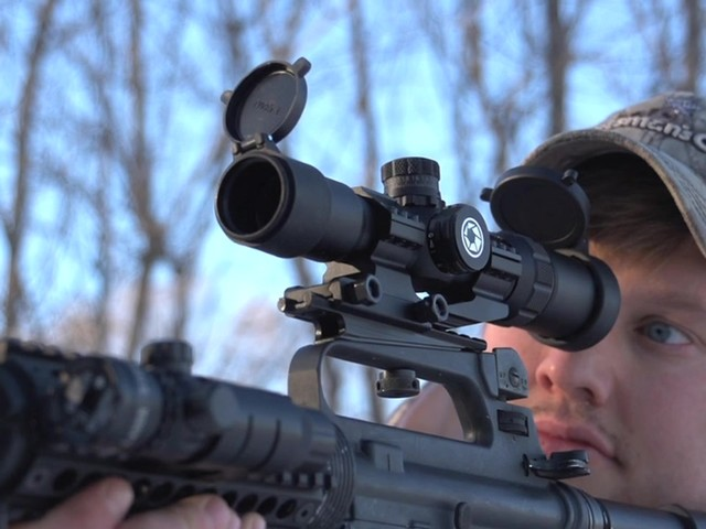Barska® AR-15 1-4x28 SWAT-AR Tactical Scope - image 8 from the video