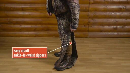 Guide Gear Guide Dry Men's Camo Coveralls Waterproof Insulated Breathable - image 6 from the video
