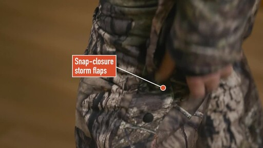Guide Gear Guide Dry Men's Camo Coveralls Waterproof Insulated Breathable - image 7 from the video