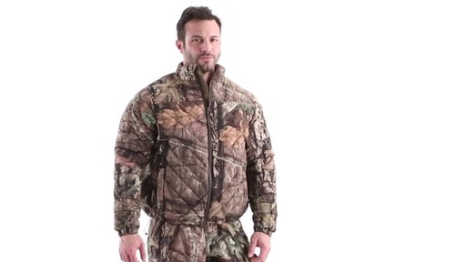 MEN'S COLD WEATHER DOWN JACKET 360 View - image 1 from the video
