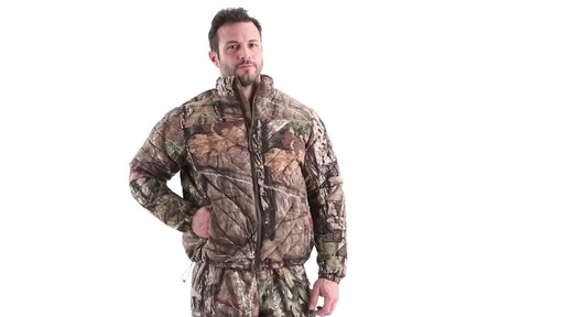 MEN'S COLD WEATHER DOWN JACKET 360 View - image 9 from the video