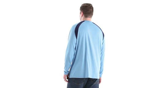 Guide Gear Men's Performance Fishing Long Sleeve T-Shirt 360 View - image 6 from the video