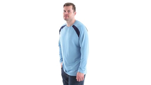 Guide Gear Men's Performance Fishing Long Sleeve T-Shirt 360 View - image 8 from the video