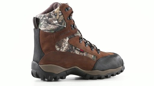 Guide Gear Men's Sentry 2000 Gram Waterproof Hunting Boots 360 View - image 1 from the video