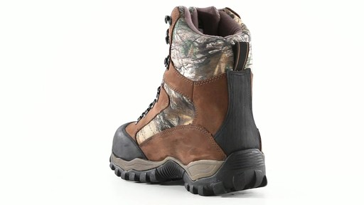 Guide Gear Men's Sentry 2000 Gram Waterproof Hunting Boots 360 View - image 3 from the video