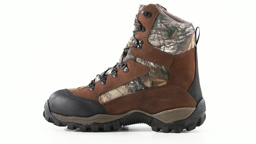 Guide Gear Men's Sentry 2000 Gram Waterproof Hunting Boots 360 View - image 4 from the video