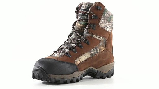 Guide Gear Men's Sentry 2000 Gram Waterproof Hunting Boots 360 View - image 5 from the video
