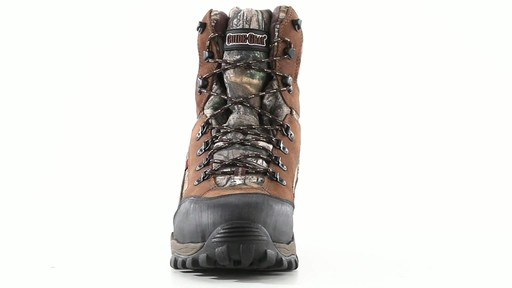 Guide Gear Men's Sentry 2000 Gram Waterproof Hunting Boots 360 View - image 6 from the video