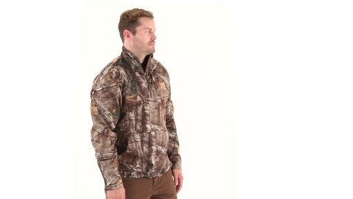 Guide Gear Men's Scent Control Quarter-Zip Pullover - image 1 from the video