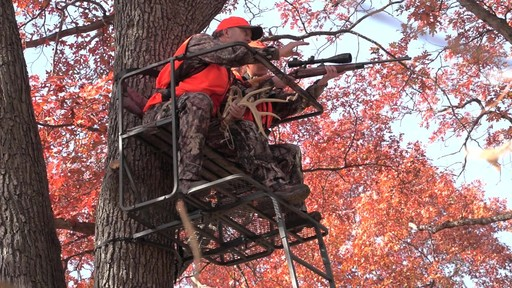 Guide Gear 17 1/2' Deluxe 2 Man Hunting Ladder Tree Stand - image 1 from the video