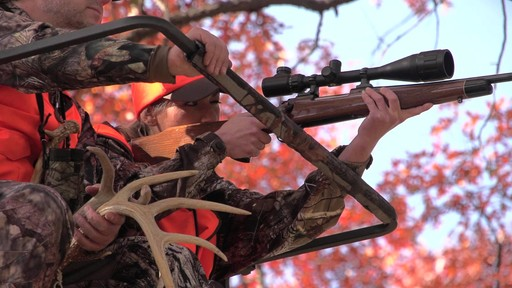 Guide Gear 17 1/2' Deluxe 2 Man Hunting Ladder Tree Stand - image 4 from the video