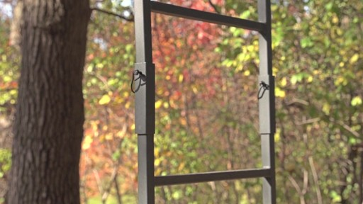 Guide Gear 17 1/2' Deluxe 2 Man Hunting Ladder Tree Stand - image 7 from the video