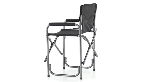 Guide Gear Oversized Mossy Oak Break-Up COUNTRY Camo Tall Director's Chair 500 lb. Capacity 360 View - image 10 from the video