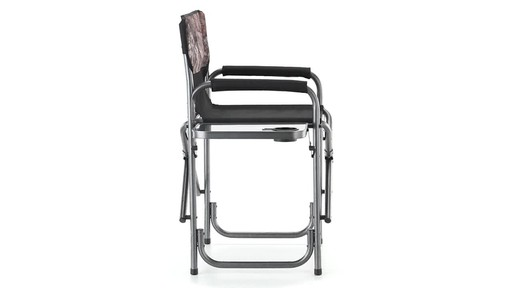Guide Gear Oversized Mossy Oak Break-Up COUNTRY Camo Tall Director's Chair 500 lb. Capacity 360 View - image 5 from the video