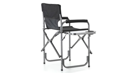 Guide Gear Oversized Mossy Oak Break-Up COUNTRY Camo Tall Director's Chair 500 lb. Capacity 360 View - image 6 from the video