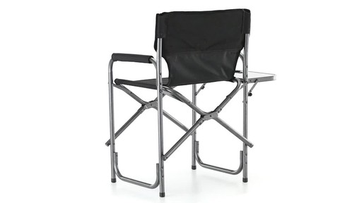 Guide Gear Oversized Mossy Oak Break-Up COUNTRY Camo Tall Director's Chair 500 lb. Capacity 360 View - image 9 from the video