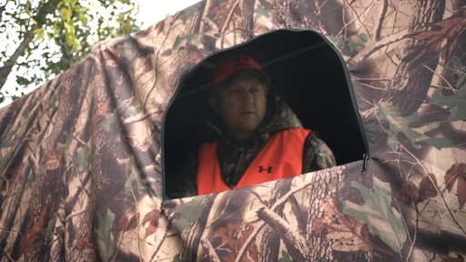 Guide Gear Camo Hunting Shed - image 4 from the video