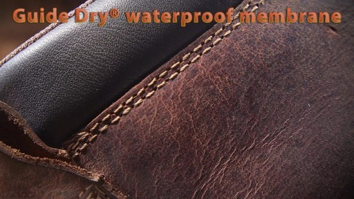 Guide Gear Men's Uplander Waterproof Hunting Boots - image 3 from the video