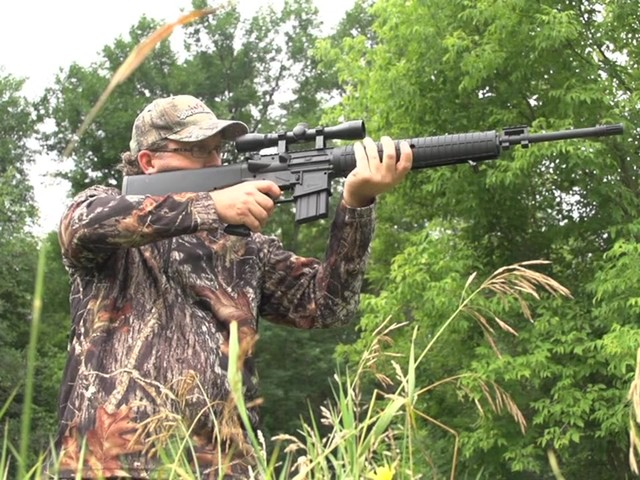 Crosman® Nitro Piston® MTR77™ Air Gun with 4x32mm Scope - image 10 from the video
