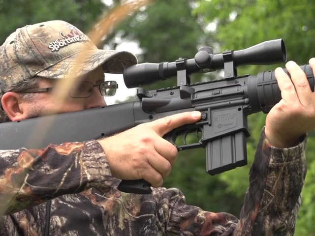 Crosman® Nitro Piston® MTR77™ Air Gun with 4x32mm Scope - image 3 from the video