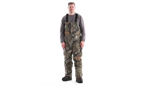Guide Gear Men's Insulated Silent Adrenaline Hunting Bibs 360 View - image 1 from the video