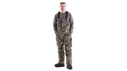 Guide Gear Men's Insulated Silent Adrenaline Hunting Bibs 360 View - image 10 from the video
