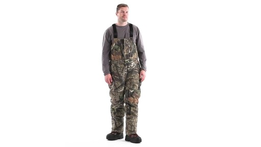 Guide Gear Men's Insulated Silent Adrenaline Hunting Bibs 360 View - image 2 from the video