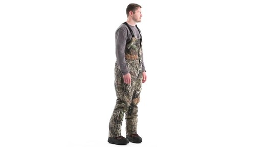Guide Gear Men's Insulated Silent Adrenaline Hunting Bibs 360 View - image 3 from the video