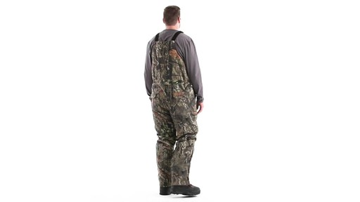 Guide Gear Men's Insulated Silent Adrenaline Hunting Bibs 360 View - image 5 from the video