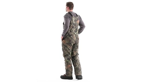 Guide Gear Men's Insulated Silent Adrenaline Hunting Bibs 360 View - image 7 from the video