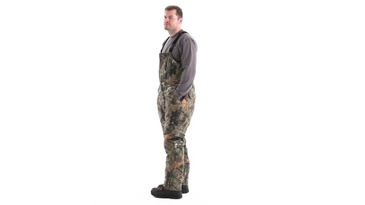 Guide Gear Men's Insulated Silent Adrenaline Hunting Bibs 360 View - image 8 from the video