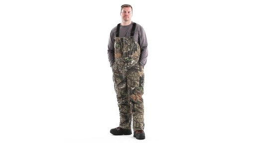Guide Gear Men's Insulated Silent Adrenaline Hunting Bibs 360 View - image 9 from the video