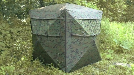 Guide Gear Deluxe 5-hub Digital Camo Blind - image 1 from the video