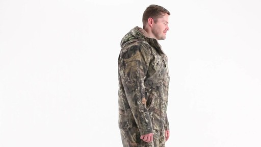 Guide Gear Men's Insulated Silent Adrenaline Hunting Jacket 360 View - image 2 from the video