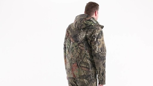 Guide Gear Men's Insulated Silent Adrenaline Hunting Jacket 360 View - image 3 from the video