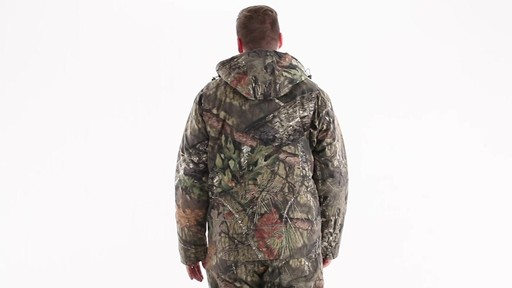 Guide Gear Men's Insulated Silent Adrenaline Hunting Jacket 360 View - image 4 from the video