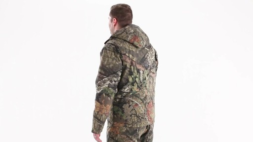 Guide Gear Men's Insulated Silent Adrenaline Hunting Jacket 360 View - image 5 from the video