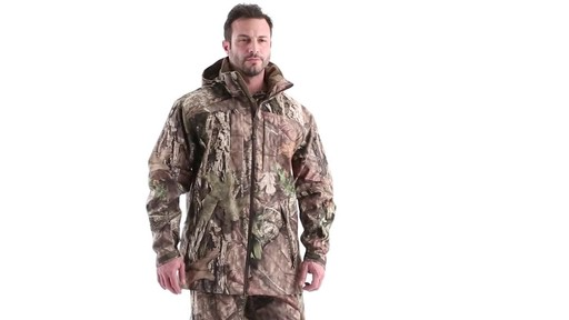 MEN'S COLD WEATHER SHELL PARKA 360 View - image 1 from the video