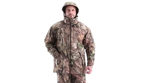MEN'S COLD WEATHER SHELL PARKA 360 View - image 10 from the video