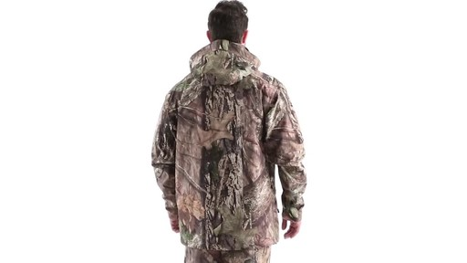 MEN'S COLD WEATHER SHELL PARKA 360 View - image 4 from the video