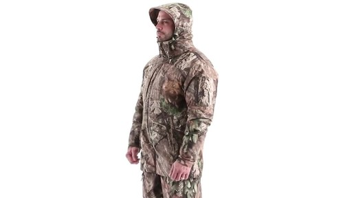 MEN'S COLD WEATHER SHELL PARKA 360 View - image 7 from the video