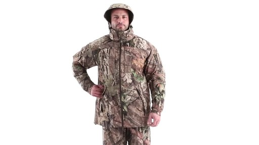 MEN'S COLD WEATHER SHELL PARKA 360 View - image 8 from the video