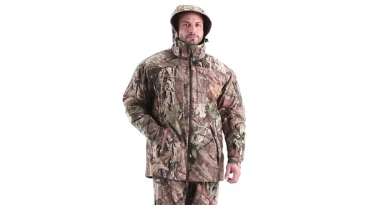 MEN'S COLD WEATHER SHELL PARKA 360 View - image 9 from the video