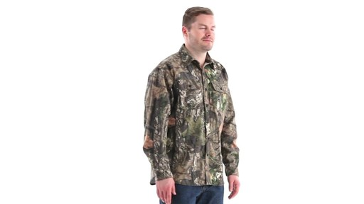 Guide Gear Men's Button-Down Hunting Shirt 360 View - image 2 from the video