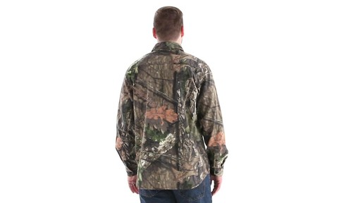 Guide Gear Men's Button-Down Hunting Shirt 360 View - image 5 from the video