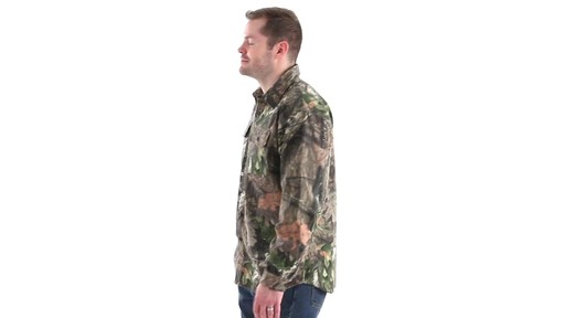 Guide Gear Men's Button-Down Hunting Shirt 360 View - image 8 from the video
