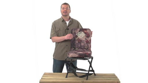 Guide Gear Swivel Hunting Chair Black - image 7 from the video