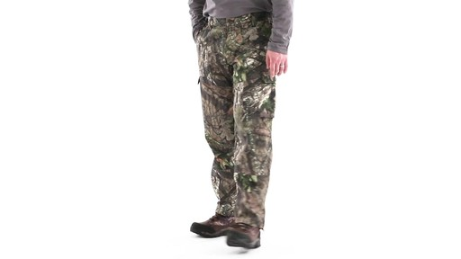 Guide Gear Men's 6-Pocket Hunting Pants 360 View - image 9 from the video