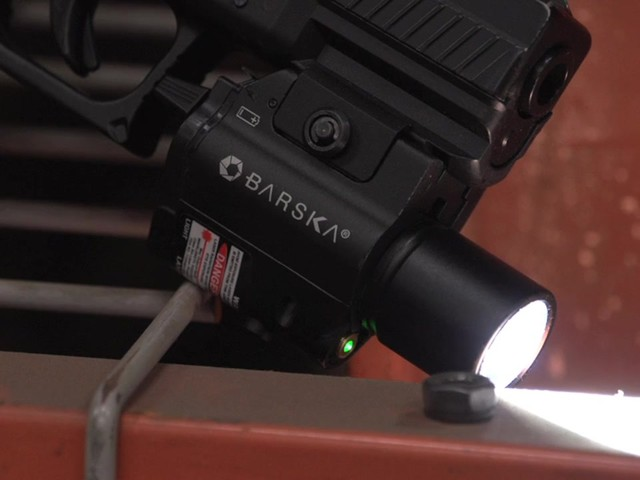 Barska® Green Laser/Light Combo - image 1 from the video